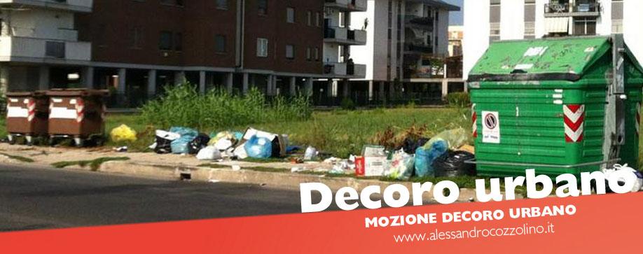 Decoro urbano Alessandro Cozzolino